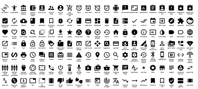 Google Just Released Hundreds of Cool Icons That You Can Use For Free