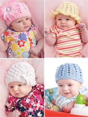Knit Beginner Baby Hats
