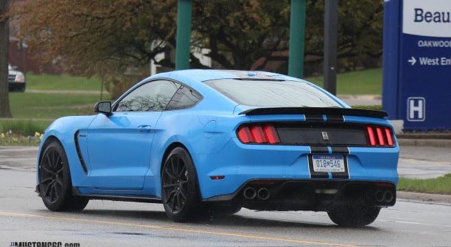 Grabber Blue 2017 GT350 Mustang | 2015+ Mustang Forum News Blog S550
