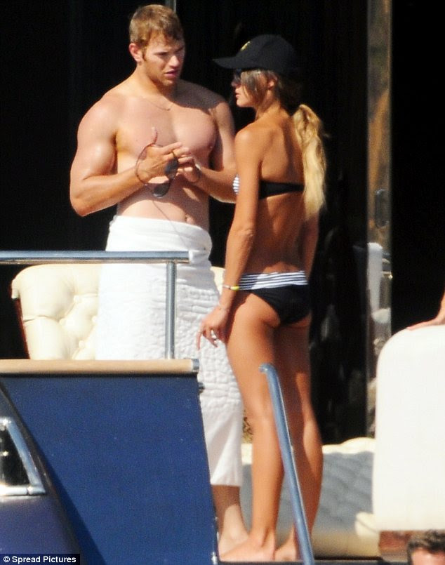 Cute couple: Kellan and his Home and Away star other half make one good-looking duo