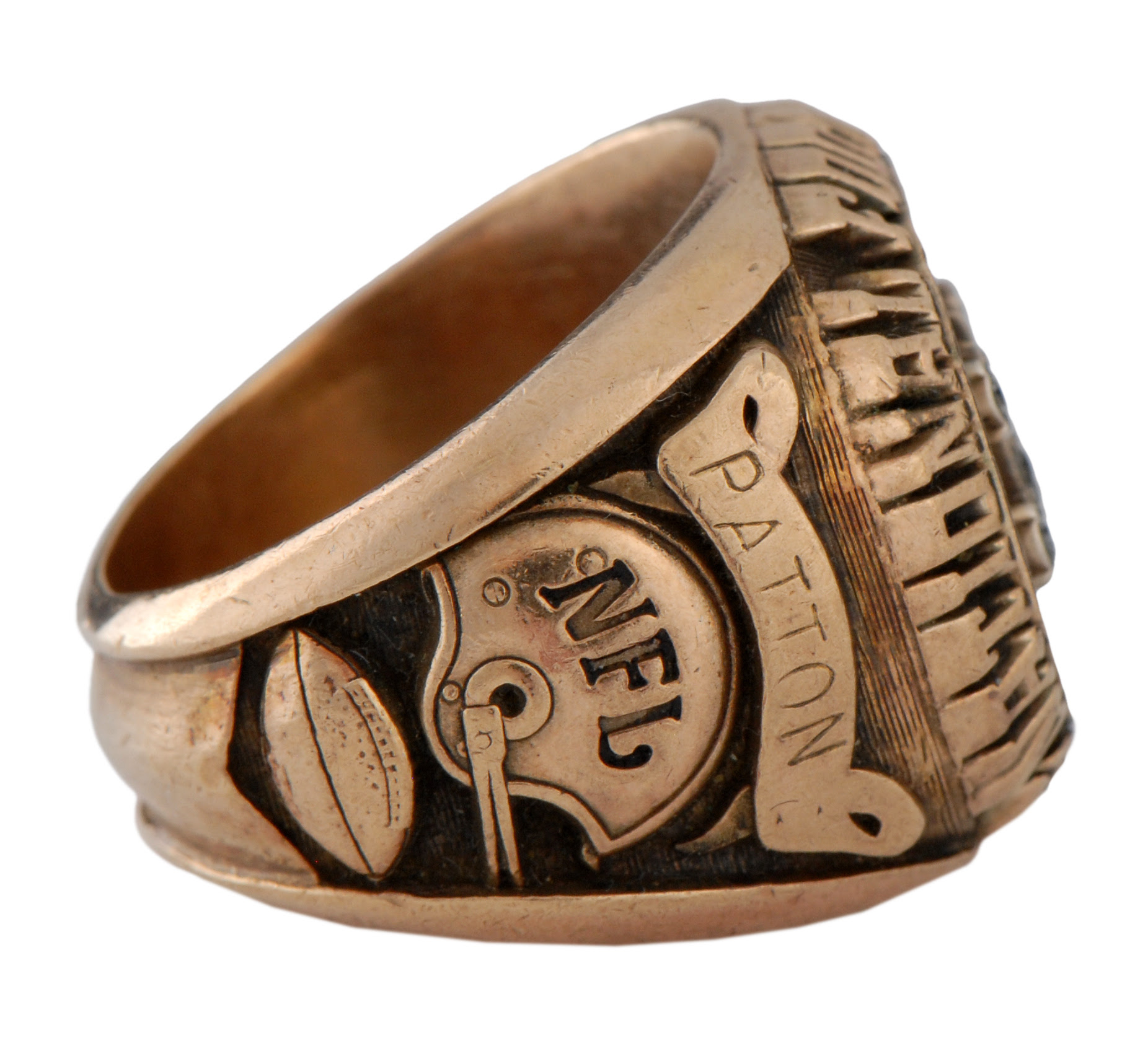 Lot Detail  1952 NFL Players Association Ring  Robert Patton