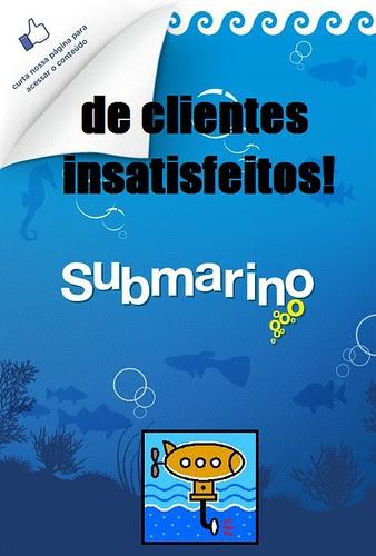 Este submarino literalmente afundou faz tempo!!!! by Menina Prendada -