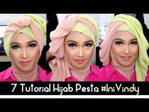 VIDEO : 7 tutorial hijab pesta dan wisuda inivindy - tutorial hijabuntuk acara dan occation tertentu seperti wisuda atau pesta. cocok juga dijadikan alternatif hijab untuk among ...
