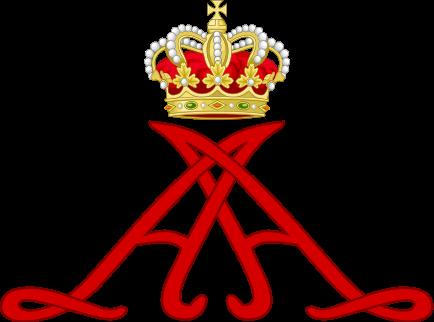 File:Royal Monogram of Prince Albert II of Monaco.svg
