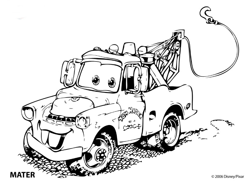 Cars Coloring Pages  Coloringpages1001.com