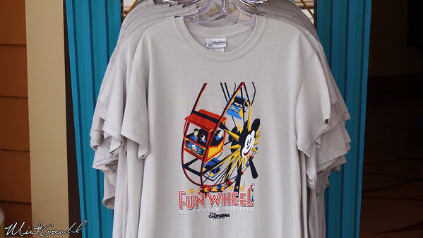 Disneyland Resort, Disney California Adventure, Mickey's Fun Wheel, shirt