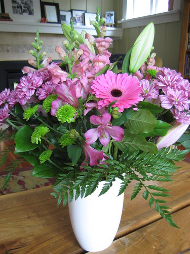 Birthday flowers from Dianne