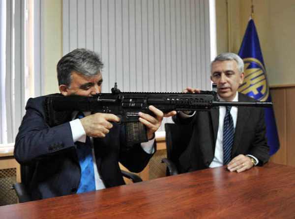 Turkish MKEK Rifle