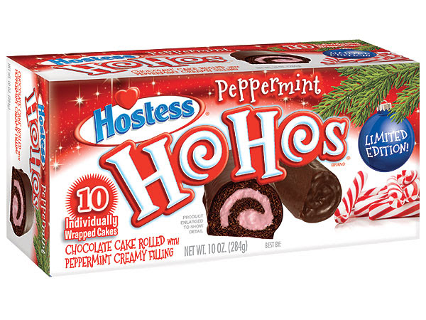 Ho Hos, Peppermint Ho Hos, Hostess