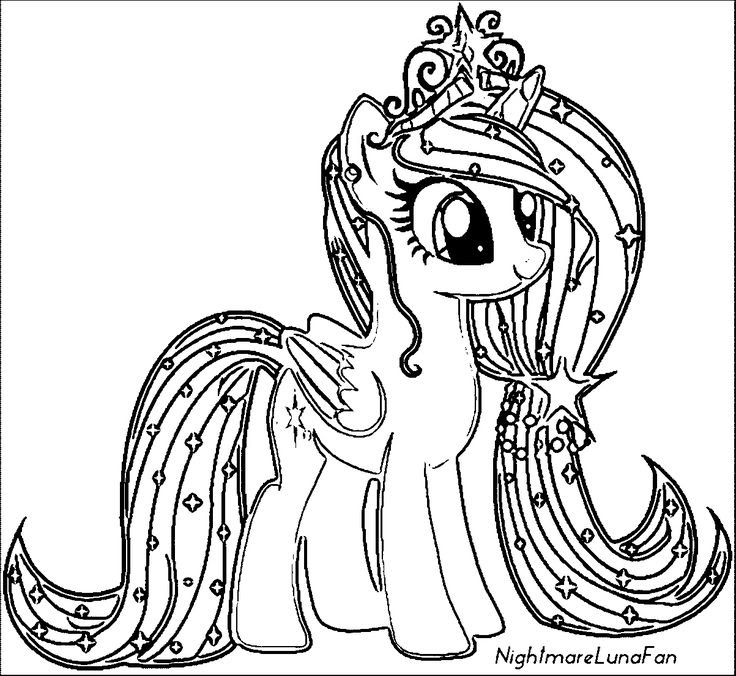 My Little Pony Coloring Pages Games At Getcoloringscom Free