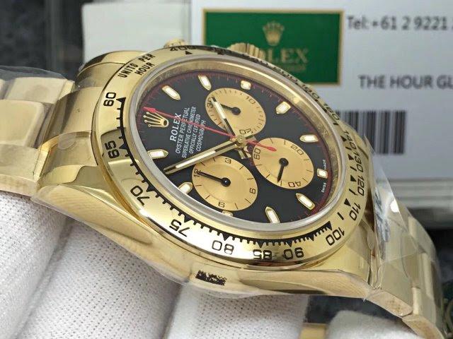 Replica Rolex Daytona Full Gold Watch