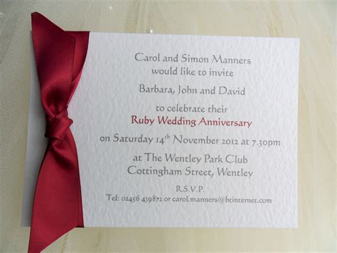 Wedding Anniversary Invitations 60p   Affordable Silver