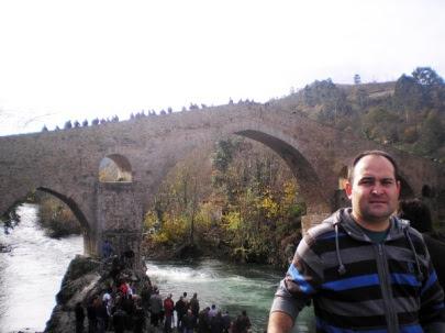 Roberto Castro, alumno destacado del curso de Inglés.