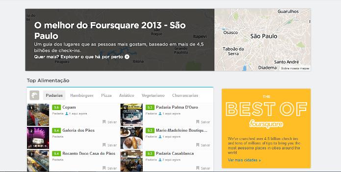 Melhores lugares de São Paulo, segundo o Foursquare (Foto: Reprodução/Lívia Dâmaso)