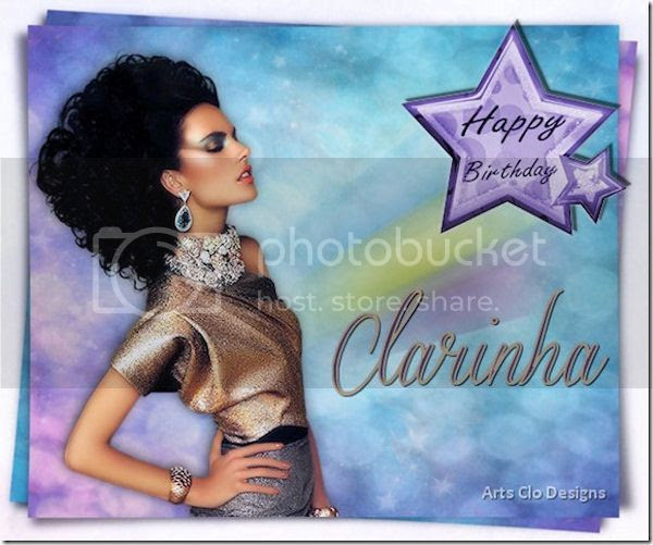 Eugenia Clo- Happy birthday Clarinha by Eugenia Clo