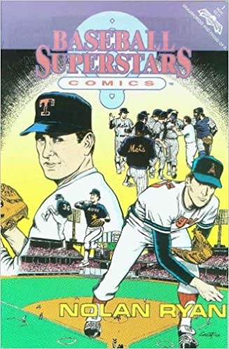 Baseball Superstars Comics Nolan Ryan