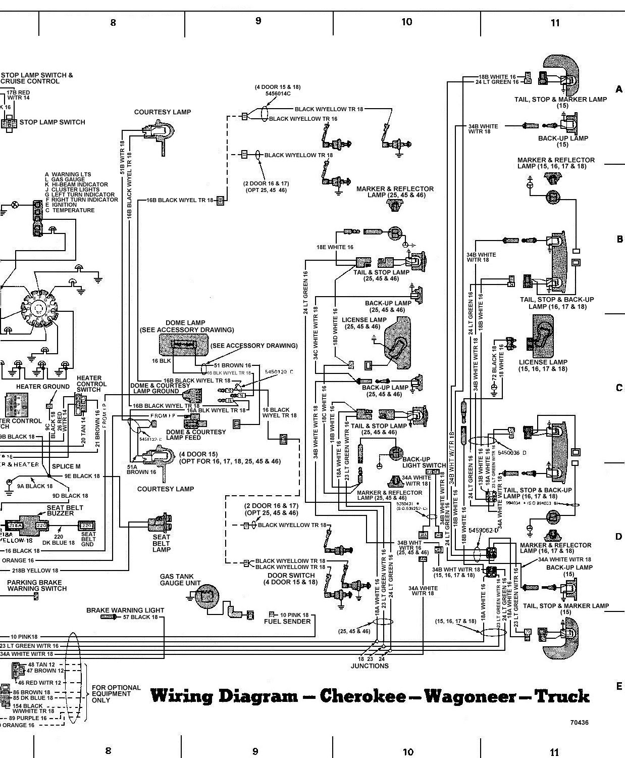 Wiring Diagram Source  2004 Jeep Grand Cherokee Door Wiring Harness Diagram