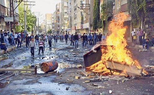 Διαδήλωση Κούρδων στην Πόλη