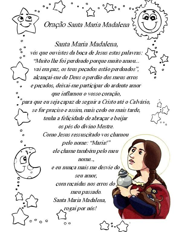 Dia de Santa Maria Madalena Imagem 4