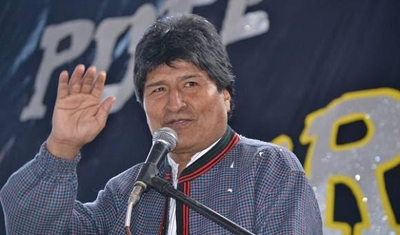 Los agresores se han centrado, entre otros elementos, en la figura del presidente Evo Morales. Foto: Archivo.