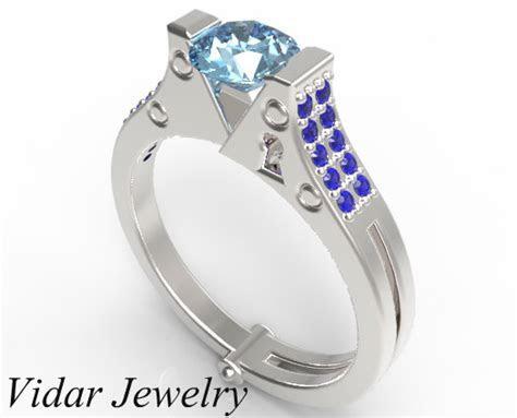 Handcuff Engagement Ring   Vidar Jewelry   Unique Custom