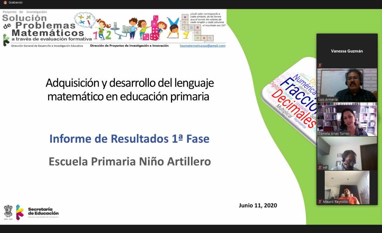 Educacion Mejoran Estudiantes Michoacanos En Solucion De Problemas Matematicos