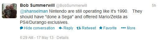 Bob summerwill tweets