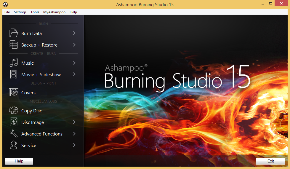 Ashampoo Burning Studio 16 Full + Key โปรแกรมไรท์ CD DVD ...