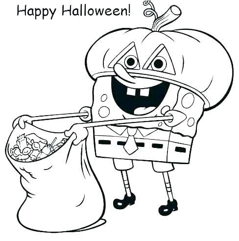 spongebob coloring pages pdf at getdrawings  free download