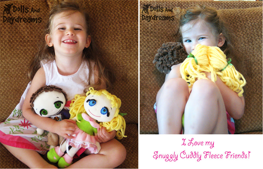 Fleece dolls