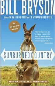 In a Sunburned Country by Bill Bryson: Book Cover