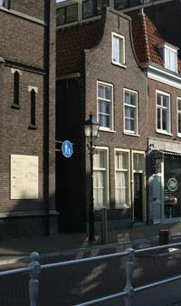 house of Johannes Vermeer at Oude Langendijk