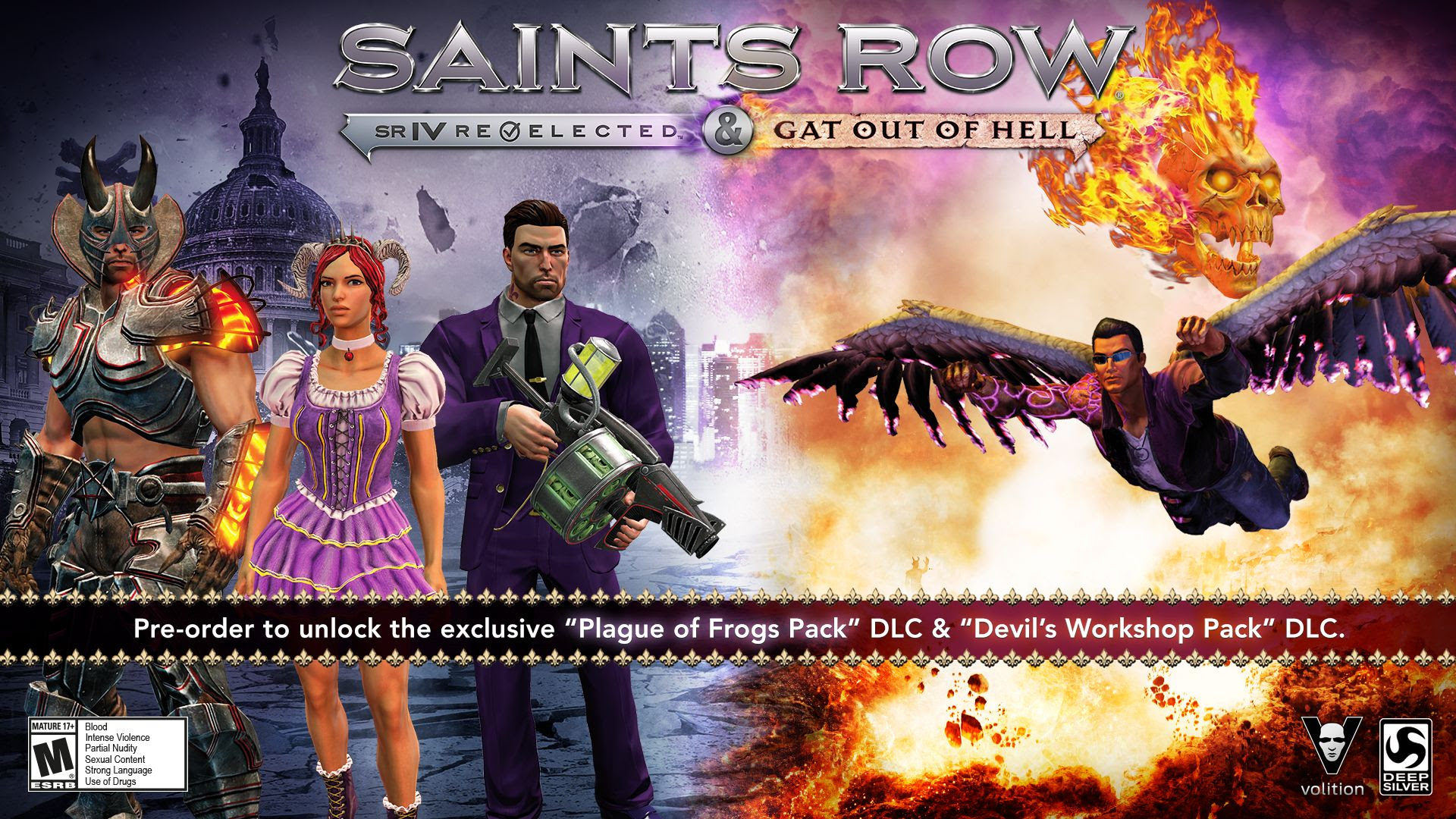 Saints Row Gat Out Of Hell Release Date Moved Forward Crazy