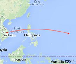 distance VNGuam