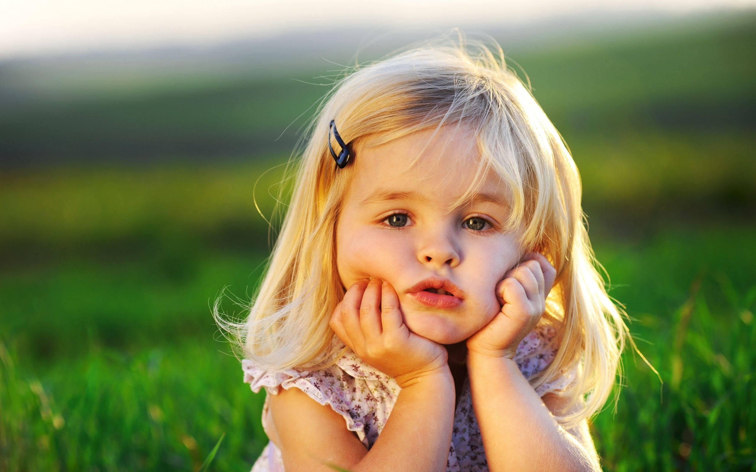 Cute Little Baby Girl Wallpapers In Jpg Format For Free Download