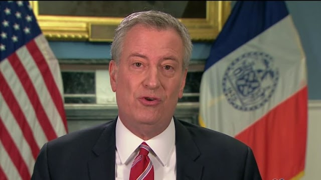 De Blasio: People Will Die Because Trump 'Will Not Lift a Finger to Help'