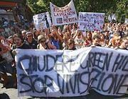 Una protesta contro il canile di Montichiari