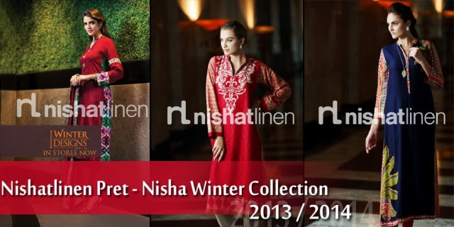 Nishat-Linen-Pret-Nisha-Winter-Fashion-Suits-Collection-2013-14-for-Girls-