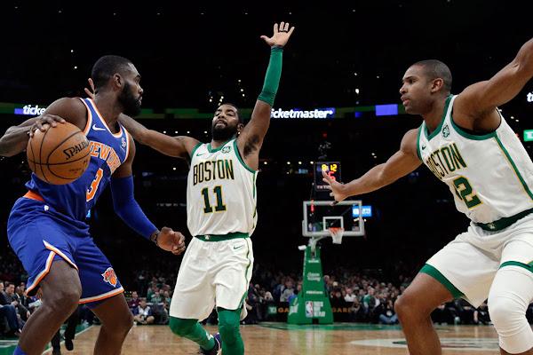 96416ea5baf0e Irving leads Celtics past Knicks