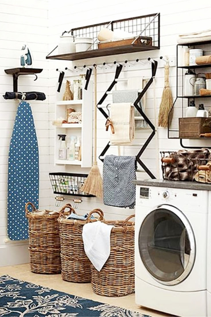Laundry Nook Ideas We LOVE - Clever DIY Ideas