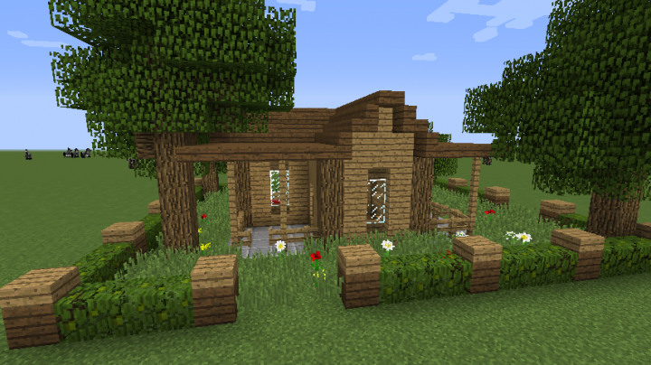 Small Wood House Minecraft Project