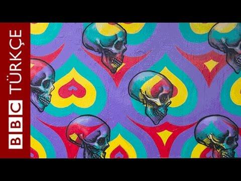 gerçek kimliğini gizleyen INSA Nickli Grafiti sanatçısı bu resimleri nasıl yaptığını uygulamalı olarak anlatıyor.