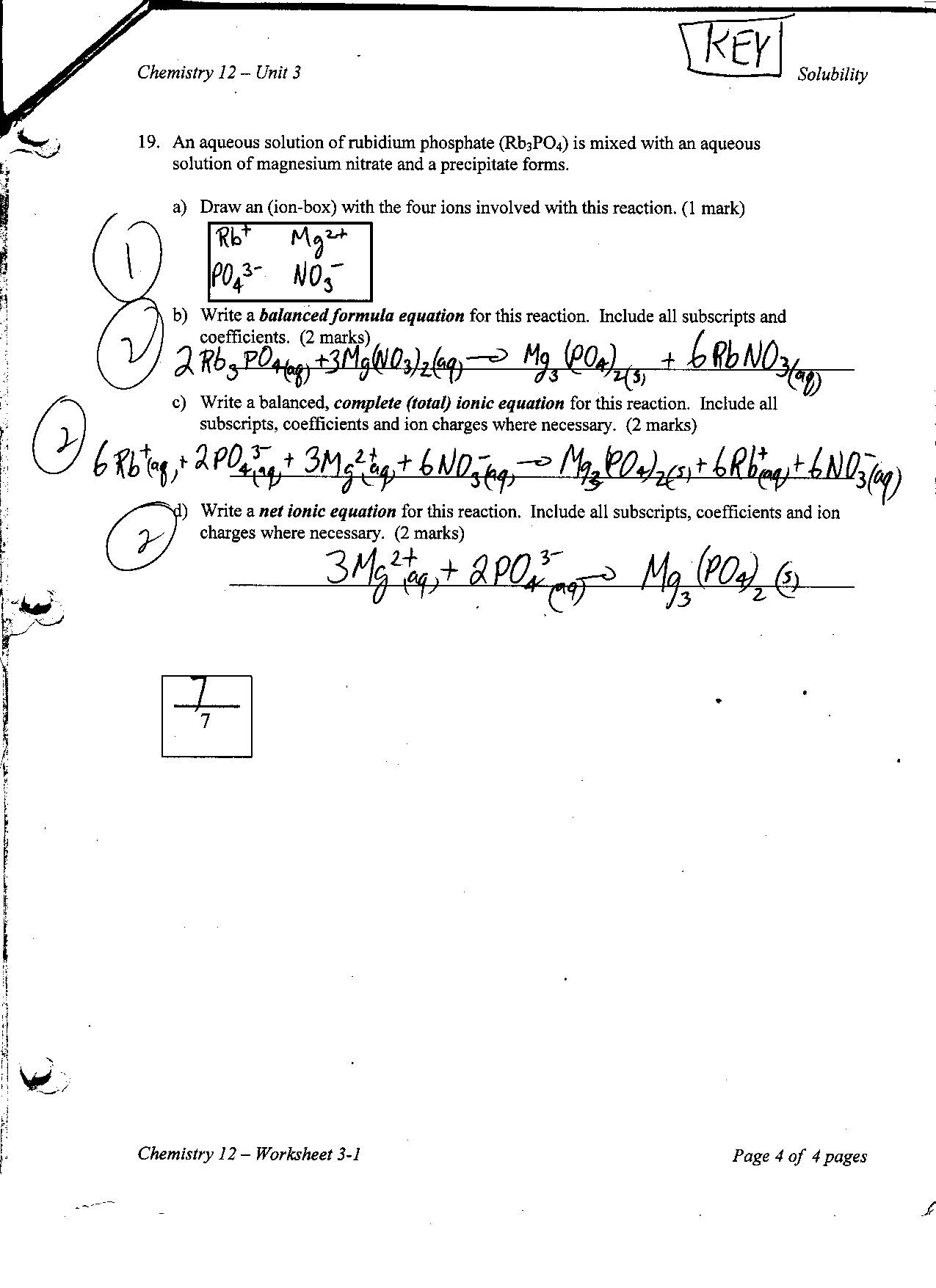 28 Chemistry Unit 1 Worksheet 3 Answers - Worksheet ...