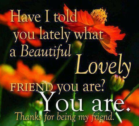 Thanks For Being My Friend Pictures Photos And Images For Facebook