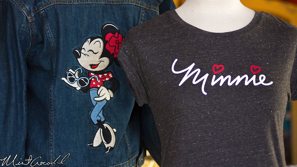 Disneyland Resort, Disney California Adventure, Paradise Pier, Minnie, Mouse, Merchandise, Vintage, Garage