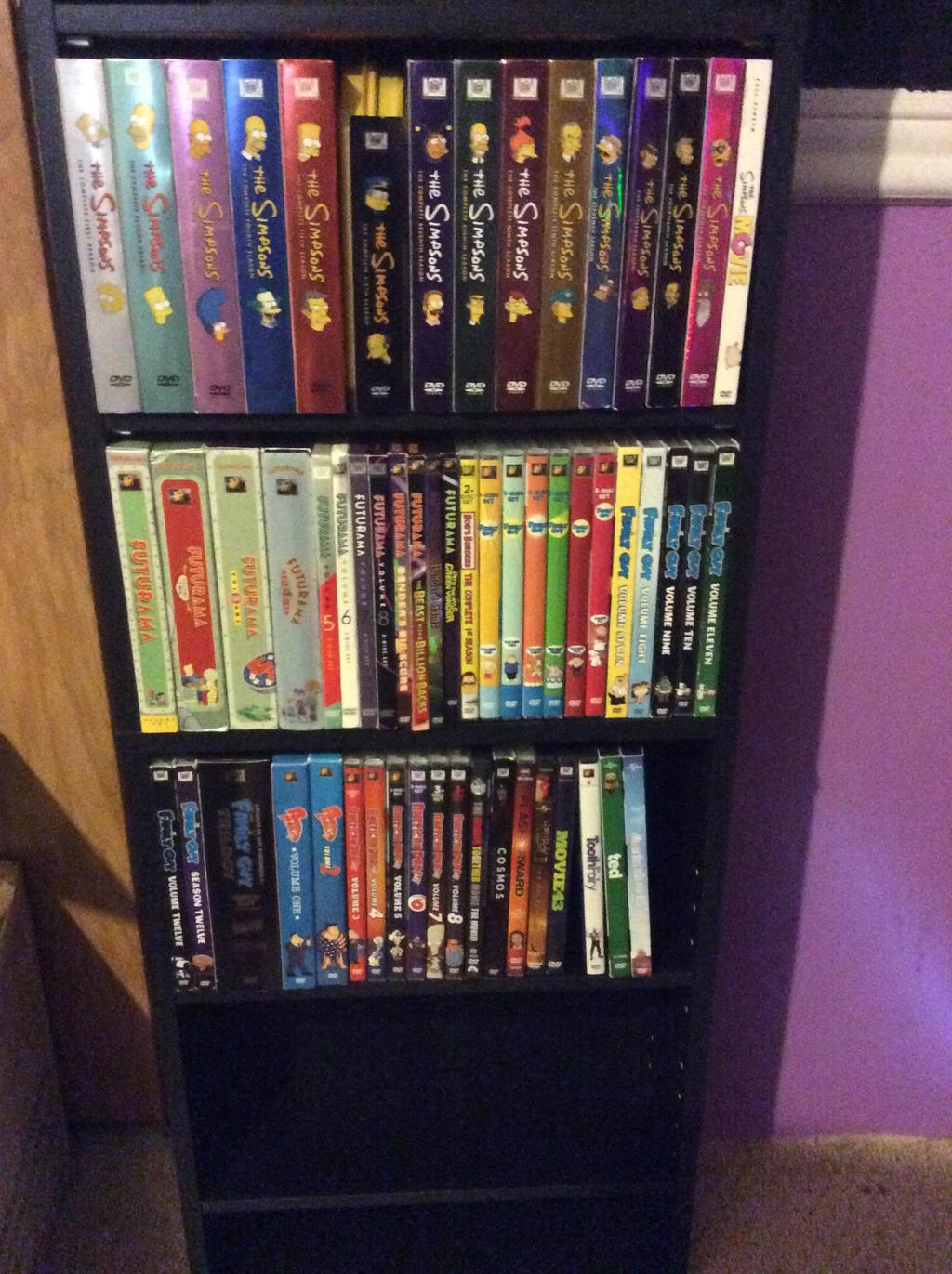 My DVD Collection Pt 1 by Quasie89 on DeviantArt