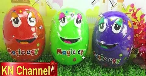 Đồ chơi trẻ em Bé na Bóc Trứng thần kỳ bất ngờ tập 2 Magic Eggs & Surprise Childrens toys