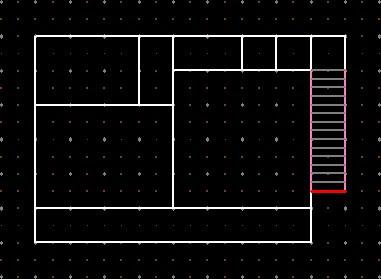 外部階段>仕切り線