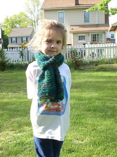 SP's scarf for WIllow