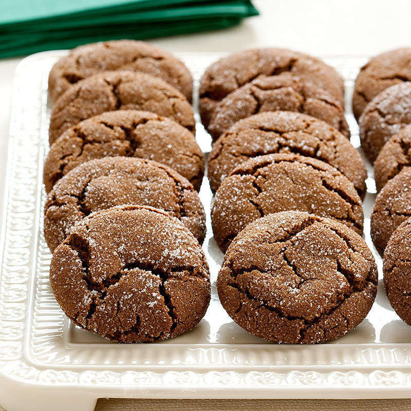 Soft and Chewy Molasses Spice Cookies Recipe - America's Test Kitchen